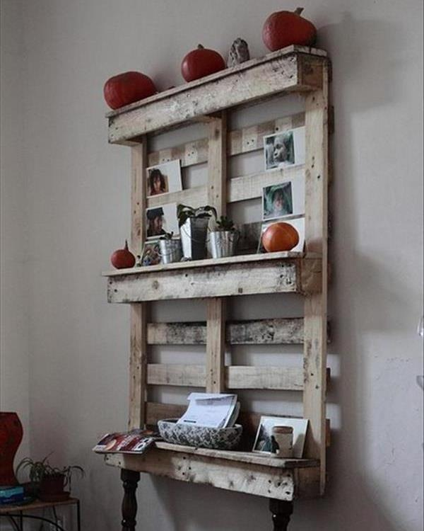 Making Shelves Out Of Pallets