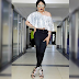 Bobrisky Rocks crop top and heels in new photos