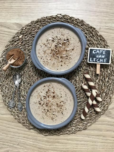 ARROZ CON CAFÉ CON LECHE AL MICROONDAS  ¡Postre fácil y rápido perfecto para los amantes del café