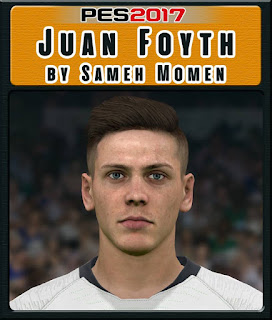 PES 2017 Faces Juan Foyth by Sameh Momen