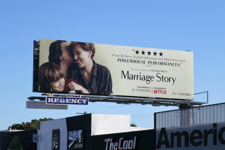 Marriage Story Powerhouse Performances billboard