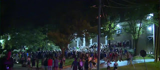 Private security company pepper-sprayed frat house protesters