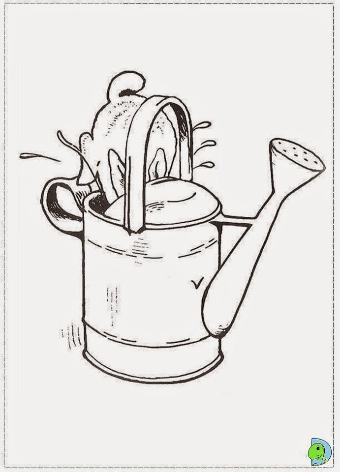 Desenhos De Peter Rabbit Para Colorir