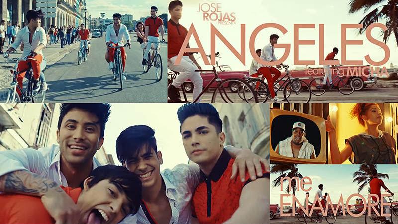 Ángeles y El Micha - ¨Me Enamoré¨ - Videoclip - Dirección: José Rojas. Portal Del Vídeo Clip Cubano - 01