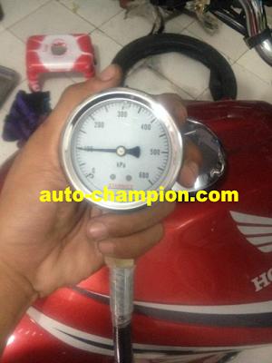 tekanan pompa injeksi rendah