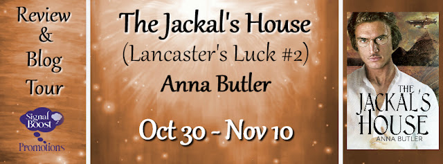 Blog Tour: Guestpost, Excerpt & Giveaway -- Anna Butler - The Jackal's House