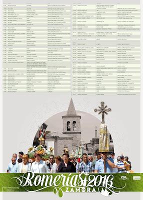 Calendario Romerias 2016