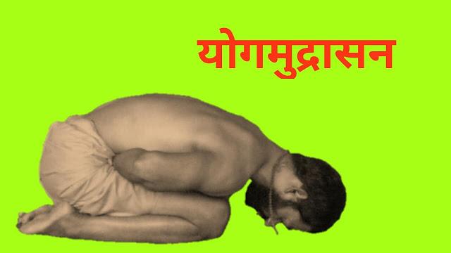 योगमुद्रासन योगा