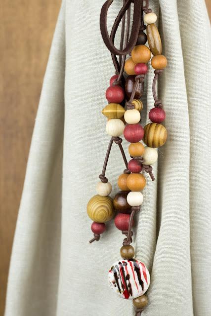 DIY | Vorhanghalter mit Holzperlen selber machen