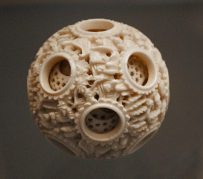 Stretching The Boundaries Chinese And European Ivory Puzzle Balls