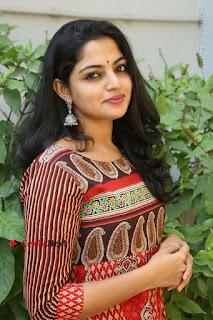 Telugu Actress Nikhila Vimal Latest Stills in Anarkali Dress  0139.JPG