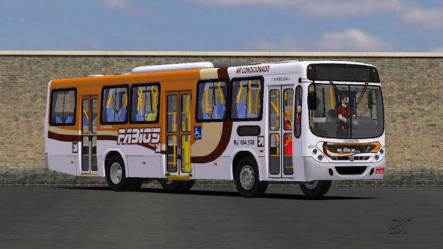 OMSI 2 - Marcopolo Torino 2007 MB OF-1722M no padrão da Transportes Fabio's