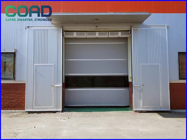 COAD, pintu high speed door, KOREA, INDONESIA, MALAYSIA, JAPAN, VIETNAM, INDUSTRIAL, AUTOMATIC, MANUAL, THAILAND, 高速シートシャッター, Pintu Berkelajuan Tinggi,
