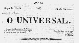 """""""O Universal"""", pioneiro da imprensa mineira"""