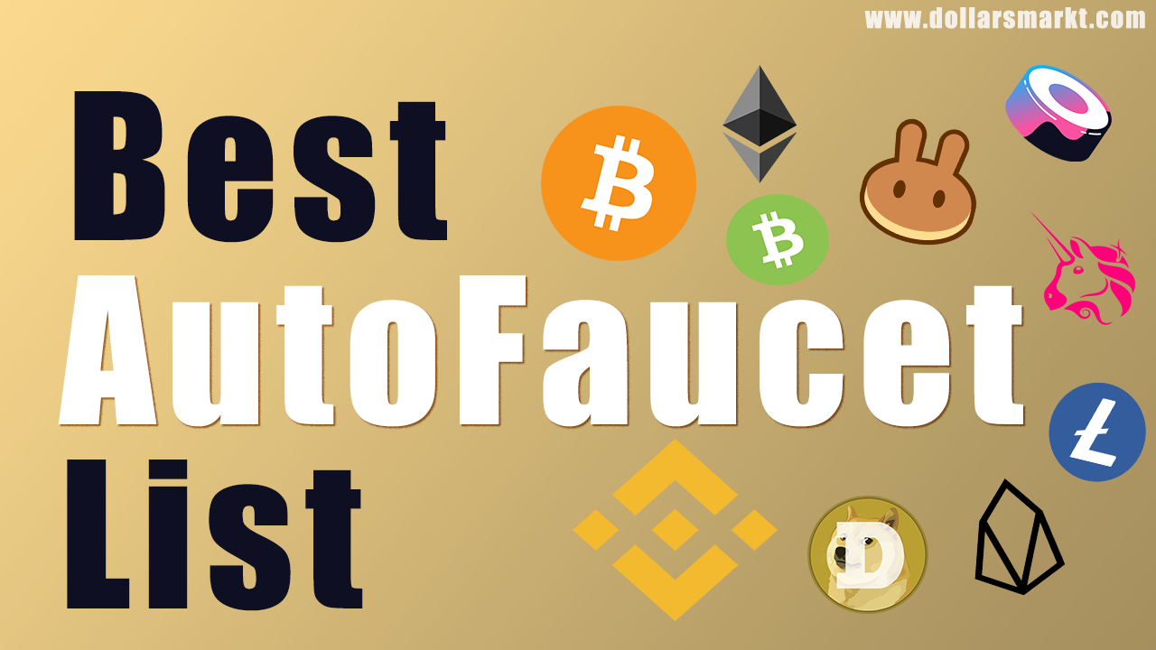 best crypto autofaucet list earn free cryptocurrencies instant withdraw to wallet