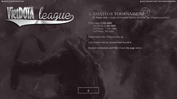 vietdota league 3 - Điểm lại những giải đấu Dota 2 lớn từng được tổ chức tại Việt Nam (Phần 2)