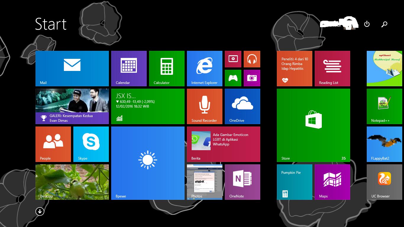 Cara Windows 8 1 Boot  Start Up Langsung Masuk Desktop