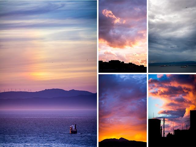 Otros 10 sitios para fotografiar en Ceuta - El cielo