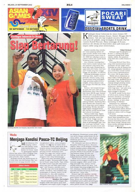 ASIAN GAMES XIV BUSAN: KONTINGEN INDONESIA KE BUSAN SIAP BERTARUNG!
