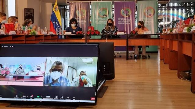 Ministra Santaella debatió con jefes y jefas de zonas educativas del país el plan metodológico para el regreso a clases