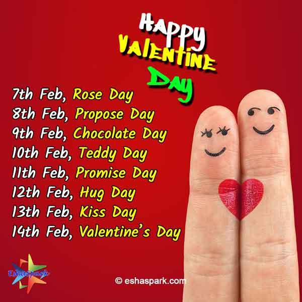 Valentine Week Complete