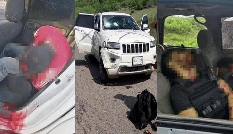 """Hay tres detenidos tras fuerte topon entre CJNG y """"El Abuelo"""" en Tepalcatepec, Michoacán donde dejaron un saldo de 9 ejecutados y 11 heridos"""