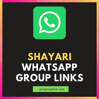 Shayari WhatsApp Group Links