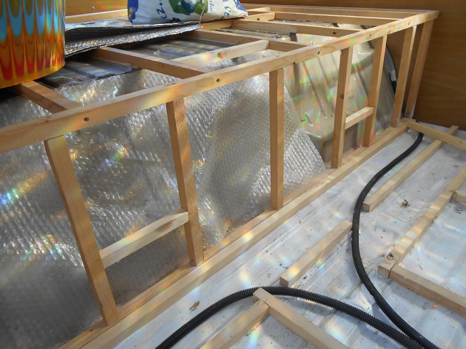BohemiVan: VANLIFE - Fitting a Campervan Subfloor and Lino