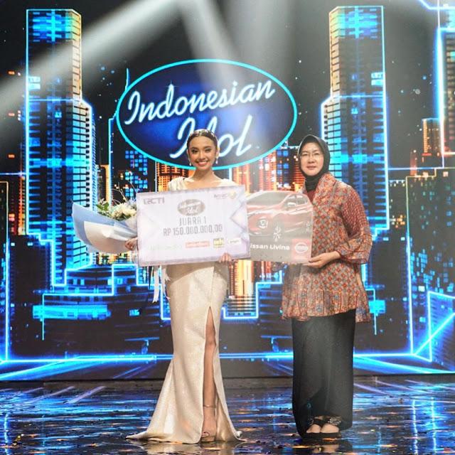 Lyodra Ginting Juara Indonesian Idol 2020
