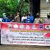 Peringati HUT Sumpah Pemuda ke-92, Polres Lingga Bersama Media, PPMI, Mahasiswa, Ormas Gelar Bhakti Sosial Berbagi Masker