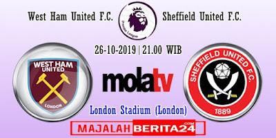 Prediksi West Ham United vs Sheffield United — 26 Oktober 2019