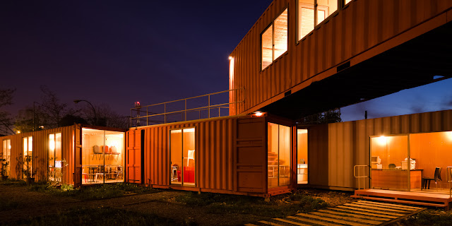 Shipping Container Sale Rooms, Showroom and Offices, Santiago, Chile 15