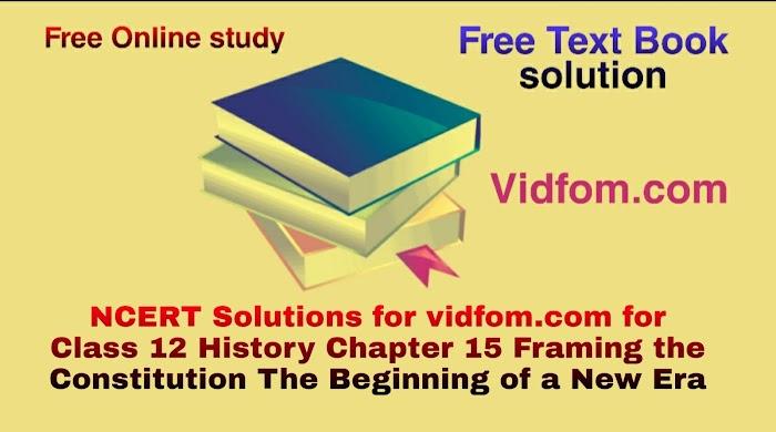 Class 12 History Chapter 15 Hindi Medium