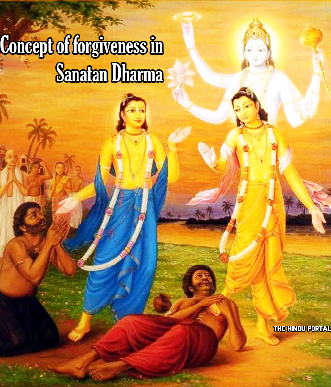 The concept of forgiveness in Sanatan Dharma differs vastly from that of Abrahamic monotheistic #Religions