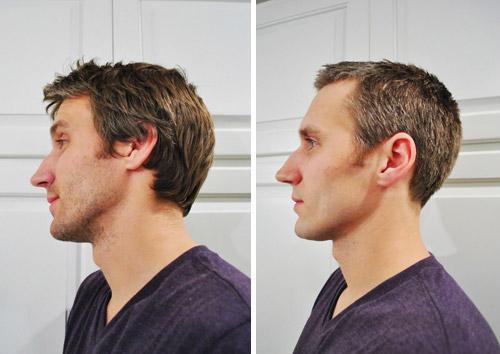 Corte de pelo para hombres a tijeras