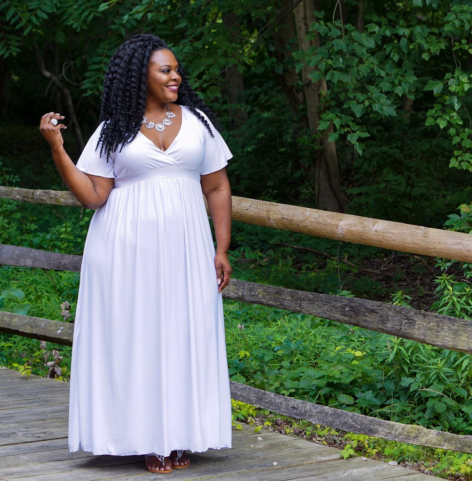swak maxi dress, swak designs maxi dress, white plus size dress, white maxidress, white plus size maxidress