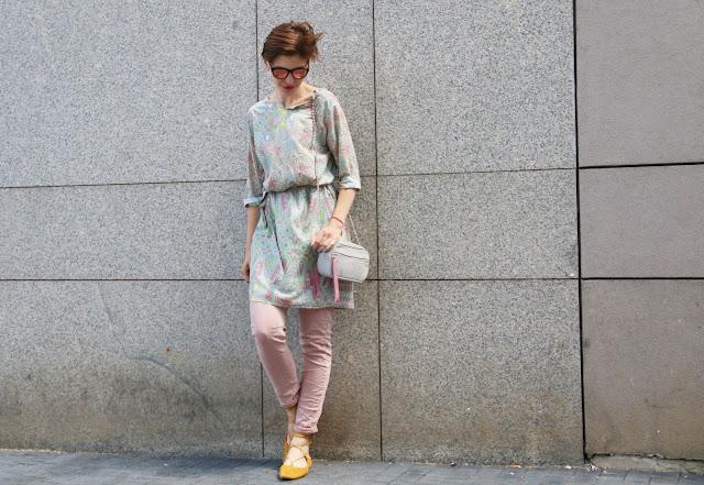 Novamoda streetstyle, novamoda stylizacje, blog po 30-tce, tunika, piesley, zamszowe dodatki, letnia stylizacja, casual style