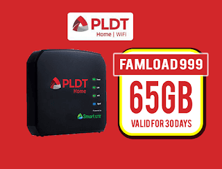 PLDT Famload 999 – 30GB of Data + 35GB Valid up to 30 Days