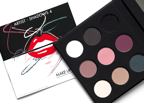 Make Up For Ever Artist Shadows Palette Volume 4 Review Photos Swatches