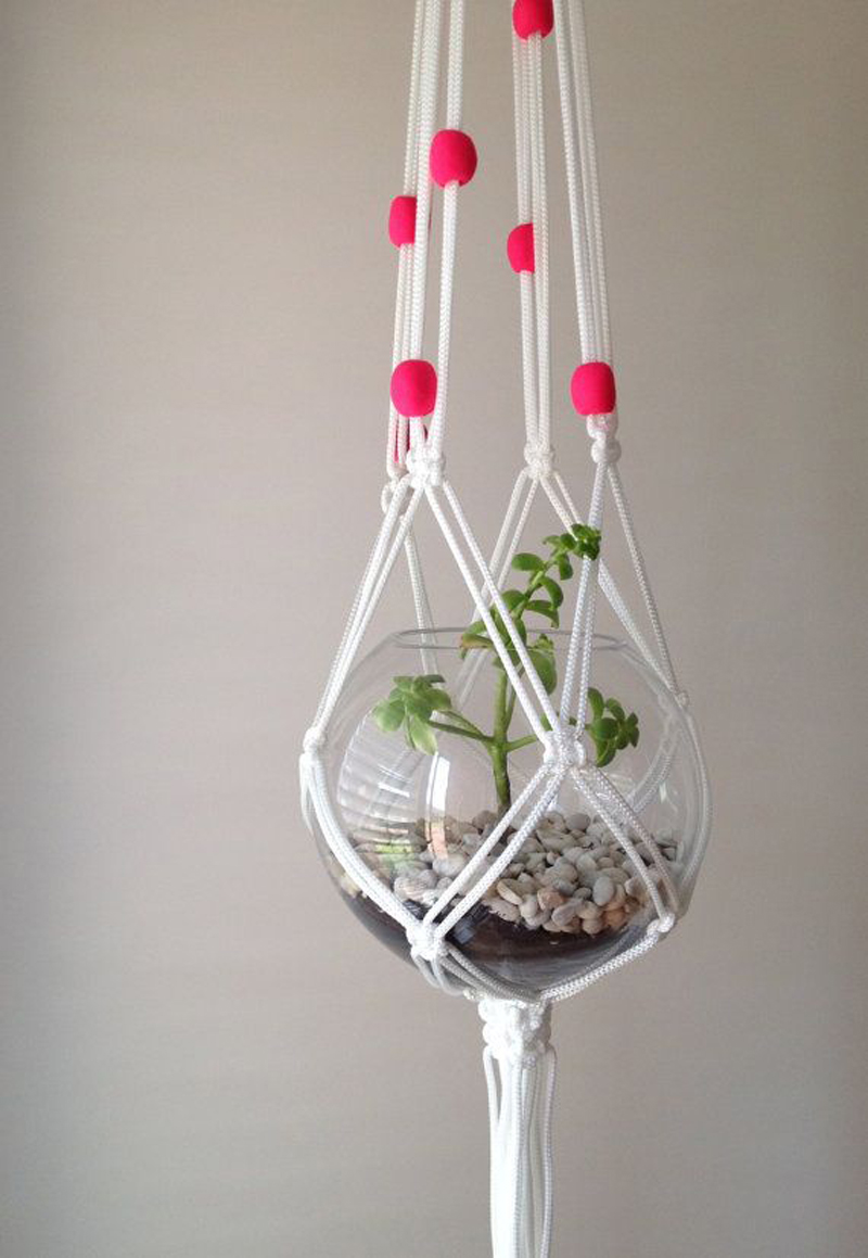 diy macrame hanging planter 20 diy macrame plant hanger patterns do it yourself 9573