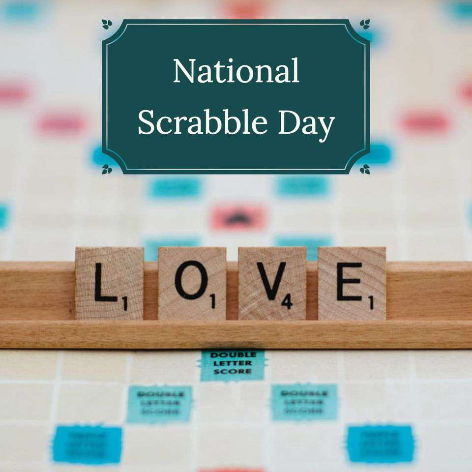 National Scrabble Day Wishes Beautiful Image