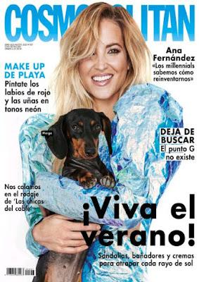 Revista Cosmopolitan agosto 2020 noticias belleza y moda mujer