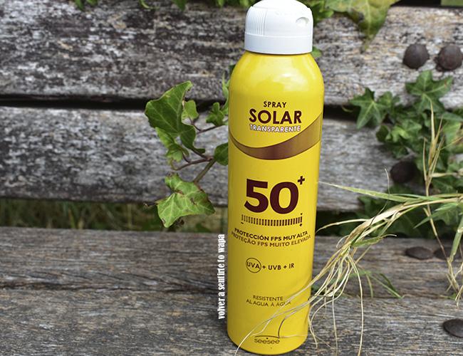 Protección FPS muy alta 50+ Facial - Spray Solar Transparente de Mercadona