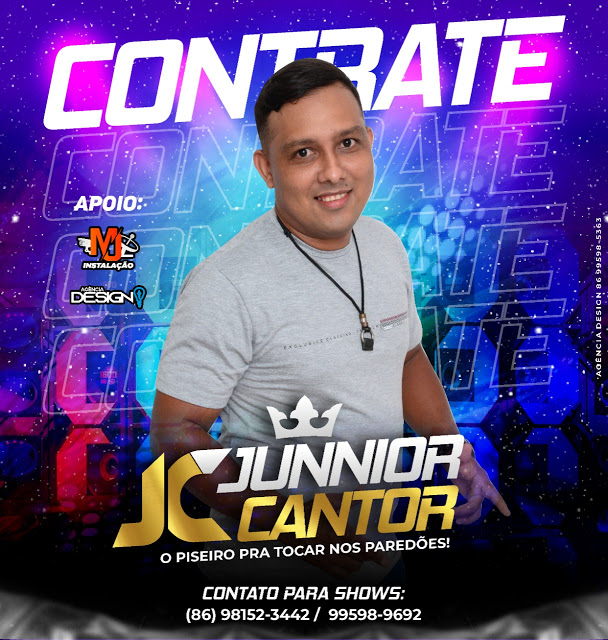 CONTRATE JUNIOR CANTOR O PISEIRO DO PAREDÕES