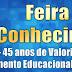 Sobradinho: CEVSJ Celebra 45 anos educando e vira tema da sua I Feira do Conhecimento da unidade escolar
