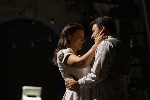Mascagni: L'amico Fritz - Katie Bird, Matteo Lippi - Opera Holland Park, 2021 (Photo Ali Wright)