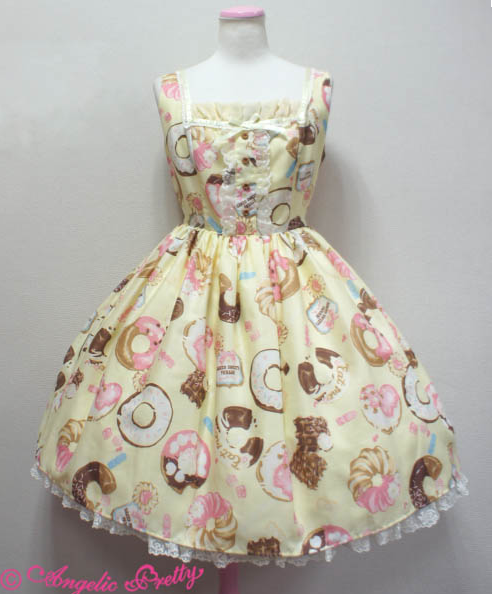 Angelic Pretty Baked Sweets Parade Jumperskirt