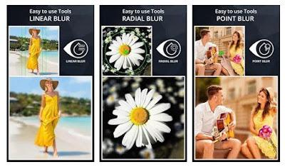 Efek Blur Kamera DSLR