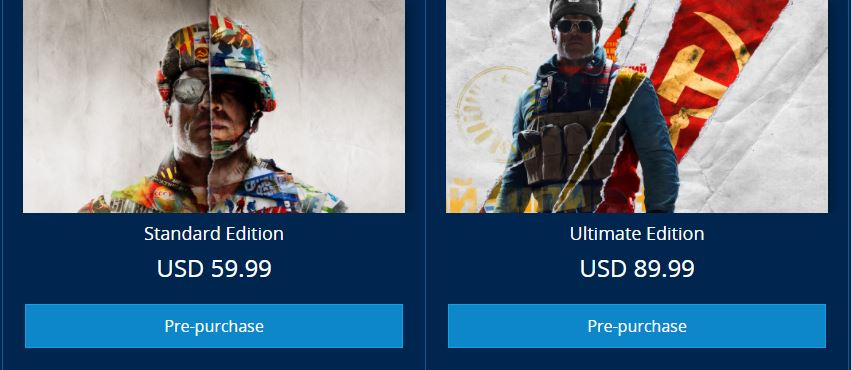 Call of Duty®: Black Ops Cold War Price