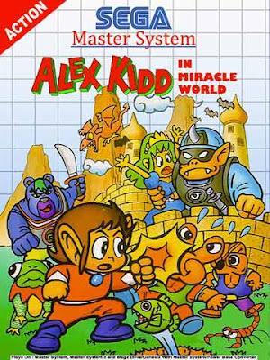 Copertina di ''Alex Kidd in Miracle World''